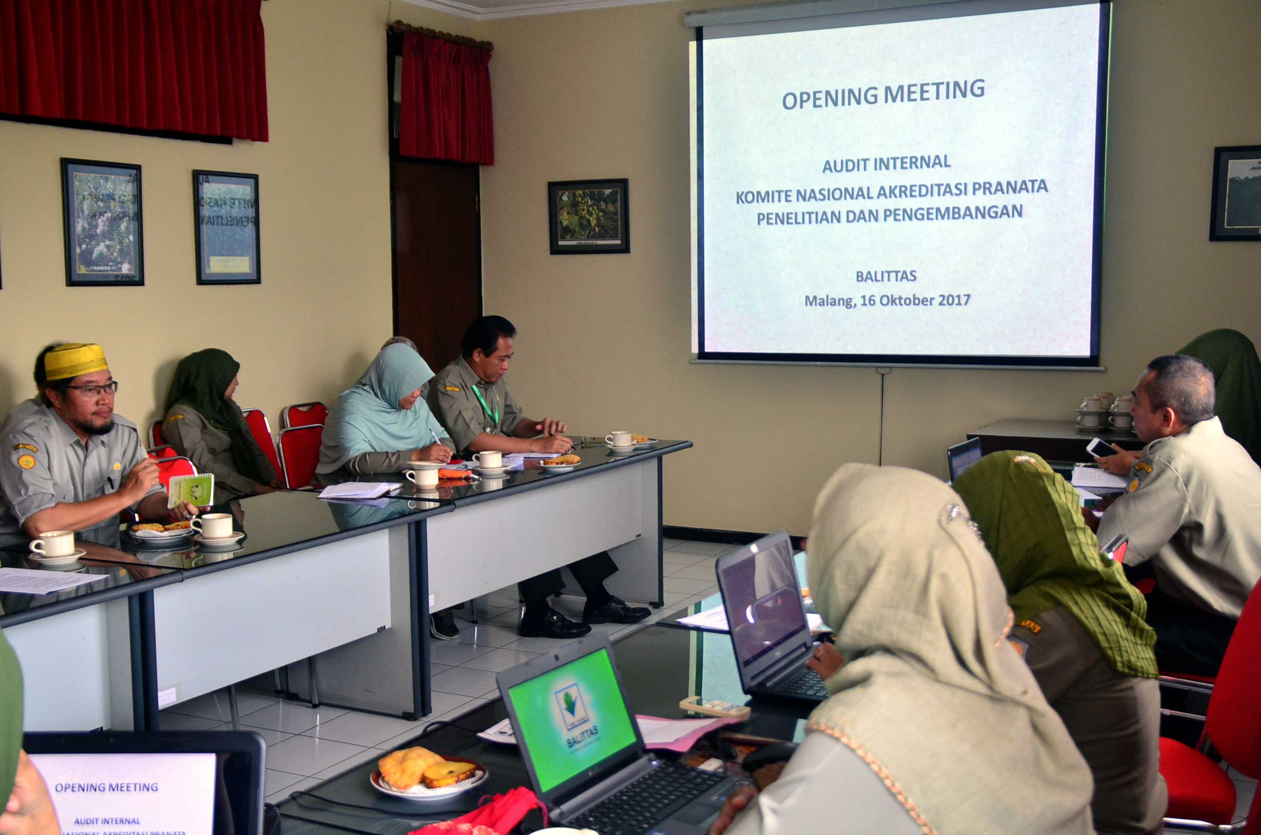 Opening Meeting Audit Internal KNAPPP